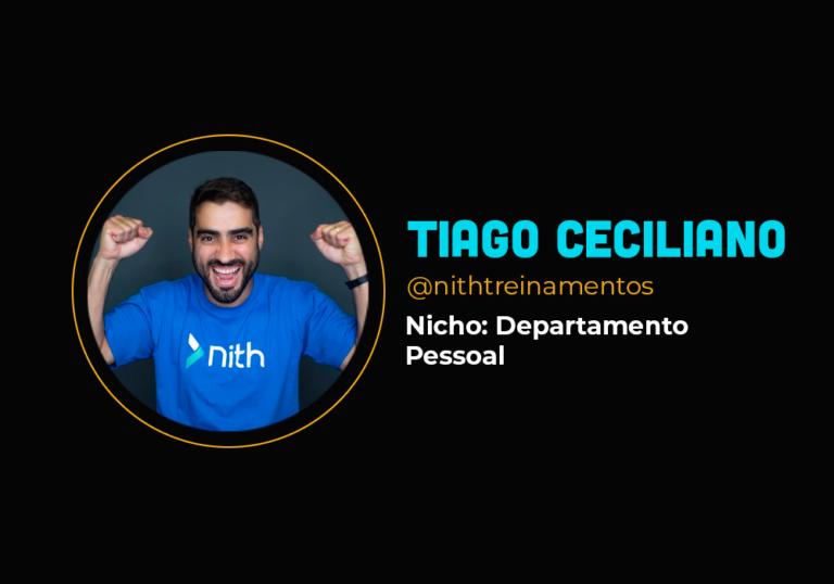 Fechou sua empresa física para focar no digital e faturou mais de R$ 1 milhão – Tiago Ceciliano