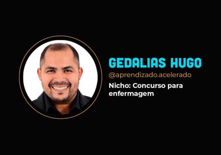 Ele fez R$ 1.5 milhão no digital no nicho de concurso- Gedalias Hugo