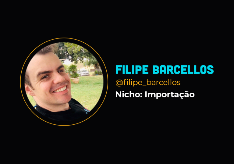 Ele transformou a sua vida ensinando a importar produtos na internet – Filipe Barcellos