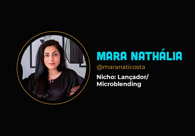 Mais de R$ 3 milhões com microblending – Mara Nathália
