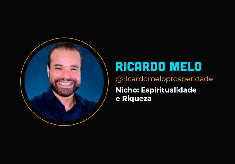 Ele fez mais e R$ 2 milhões no nicho de espiritualidade e riqueza – Ricardo Melo